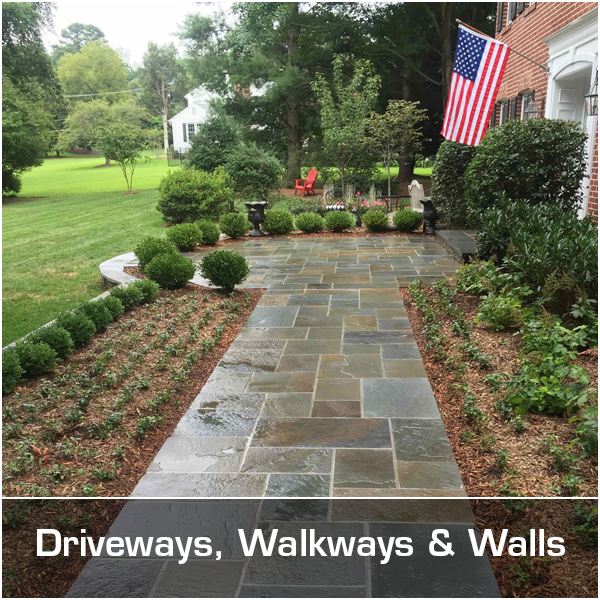 Driveways, Walkways & Walls
