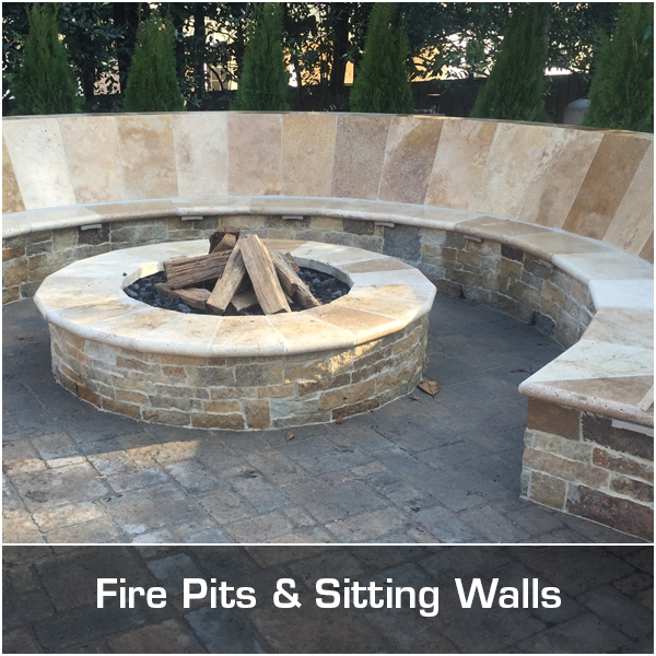Fire Pits & Sitting Walls